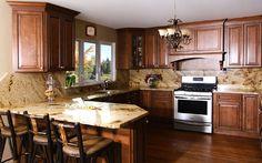 how to glaze kitchen cabinets   ... Wellington Cinnamon Glaze In-Stock Kitchen Cabinets & Vanities