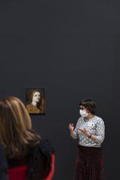 """Il percorso di visita alla mostra """"Caravaggio. Il contemporaneo""""comprende anche il Focus """"Lucie"""", dedicato all'artista Nicola Samorì. Caravaggio, Culture, Museum, Artist, Art"""