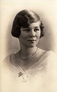 Royal Watcher:  Princess Frederica of Hanover, later Queen Consort of Greece, mother of King Constantine, Queen Sofia of Spain, and Princess Irene