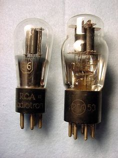 UNIVAC Mainframe Computer RCA Radiotron Vacuum Tubes (1950s).