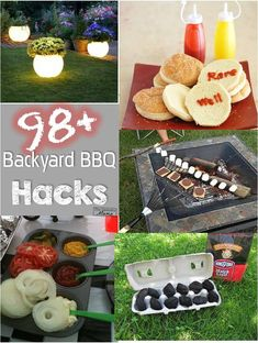 98 backyard BBQ hacks! You will want to save these! Pin it so you don't lose it. #DoUsAFlavor #sp