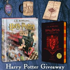 Harry Potter Books & Swag Giveaway