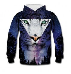 Tiger Hoodie