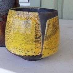 Roman pottery soon became an art unto itself. They did not borrow from the Greeks by painting decorations onto the pottery Raku Pottery, Pottery Sculpture, Pottery Bowls, Pottery Art, Thrown Pottery, Slab Pottery, Pottery Studio, Ceramic Pots, Ceramic Clay
