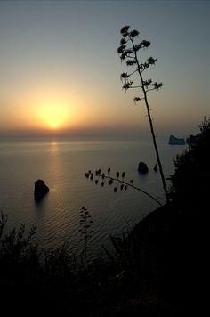 Tramonto nel Sulcis Iglesiente - Sardegna by Stefania Mana, via Flickr