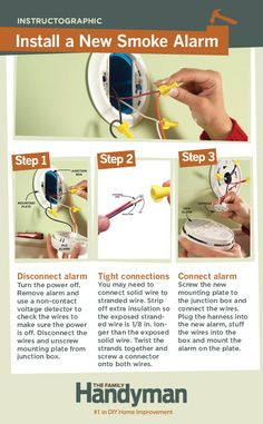 DIY Tutorial: How to Install a New Smoke Alarm.