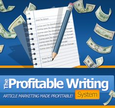 Profitable Writing System free ecourse – your guide to using simple articles to pull in all the free traffic, customers and cash you want!  http://www.writingwebcontentforprofit.com/ #article writing #content writing #web content writer #website content writer #article marketing automation #article marketing tips