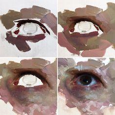 painting by expressionist Henrik Uldalen. - A r t -Eyes painting by expressionist Henrik Uldalen. Art Inspo, Arte Sketchbook, Art Studies, Art Drawings Sketches, Art Techniques, Oil Painting Techniques, Painting Lessons, Portrait Art, Portraits