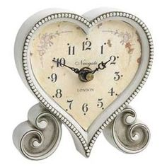 Vintage Heart-Shaped Table Clock http://cf2.polyvoreimg.com/thing.1579329.l.jpg