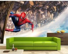 custom photo wallpaper kids room mural cartoon Spider-Man HD painting gather sofa TV background wall non-woven mural sticker 3d Wallpaper Cars, 3d Wallpaper Avengers, 3d Wallpaper Mural, Kids Room Wallpaper, Scenery Wallpaper, Cartoon Wallpaper, Photo Wallpaper, Kids Room Murals, 3d Wall Murals