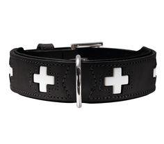 #Collare #nero per #cani   #HunterSwiss #Hunter #Swiss http://www.principini.it/prodotti/cani/collari-e-guinzagli-per-cani/collare-rosso-di-pelle