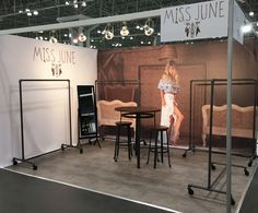 SPB Concept - Booth Design - Coterie NY February 2017 - Miss June Collection