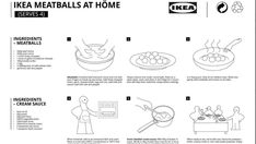 Ikea shares recipe for its famous Swedish meatballs Ikea Meatballs, Tasty Meatballs, Swedish Meatball Recipes, Creamy Mash, Pork Mince, Clean Plates, Wine Recipes, Meat Recipes, Stuffed Peppers