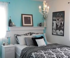 Dream Home / Tiffany-inspired bedroom on a budget - Bedroom Designs - Decorating Ideas - HGT