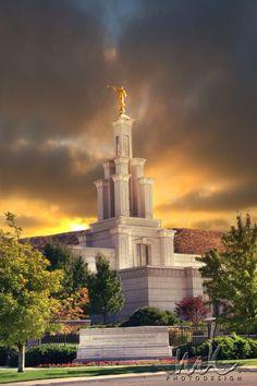 Columbia River Washington Temple