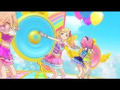 Aikatsu Stars! - Aikatsu Step! - Yume, Rola, Mahiru & Ako - Episode 24
