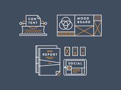 Case study icons