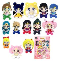 """""""SAILOR MOON PLUSHES"""" by blackveilkennya ❤ liked on Polyvore featuring art"""