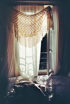 Curtain- MASTER BEDROOM, COUNTRY FRENCH GYPSY BOHEMIAN FLARE