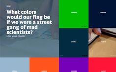 Big typography in website design - 3 #bigtypography #typography #webdesign