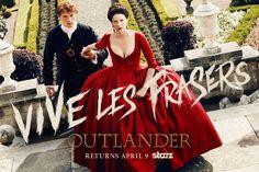 Outlander seconda stagione dal 9 aprile su Starz, trailer e poster in attesa di sapere quando arriverà in Italia su Fox Life