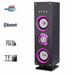 Purple Tower Bluetooth LED Speaker Clear Sound Remote Control 25W  http://www.ebay.co.uk/itm/Purple-Tower-Bluetooth-LED-Speaker-Clear-Sound-Remote-Control-25W-/252621552009?hash=item3ad16af989:g:REIAAOSwA3dYHX0p
