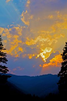 From my front porch.  You gotta love Montana!  And love livin'.