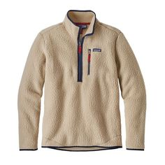 M's Retro Pile Pullover, El Cap Khaki (ELKH) - SIZE XL