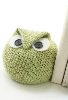 Crochet Chubby Owl Family