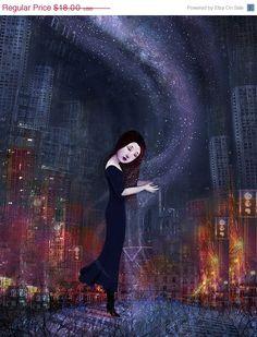 ON SALE 8X10 Urban Fairytale Danae greek mythology by Meluseena