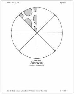 Snowflake Patterns To Cut Out | Paper Snowflake Pattern Template: How to make a cut paper snowflake ...