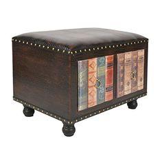 ts-ideen Taburete banqueta asiento sofá banco de corredor estilo de vintage antiguo libros rustico con 2 cajones para dos personas - http://vivahogar.net/oferta/ts-ideen-taburete-banqueta-asiento-sofa-banco-de-corredor-estilo-de-vintage-antiguo-libros-rustico-con-2-cajones-para-dos-personas/ -