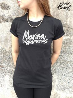 Marina And The Diamonds Tshirt Top Cool by TheIconicDesignCo, £9.99