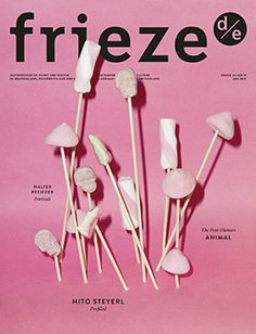 Frieze may 2015 #cover #layout #design #book #magazine #editorial #graphic #doublespread