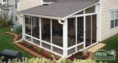Screen Room & Screened In Porch Designs & Pictures | Patio Enclosures