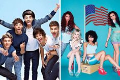 One direction/ Little mix