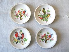 French vintage mini decorative plates with by myfrenchycottage, $22.00