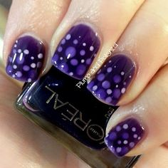 Plump and Polished: L'Oreal - Berry Nice and a Jelly Nail Art Sandwich