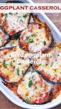 Eggplant Casserole Recipe, Veggie Casserole, Casserole Recipes, Casserole Dishes, Eggplant Diet Recipe, Easy Eggplant Recipes, Stuffed Eggplant Recipes, Healthy Food Blogs, Healthy Recipes