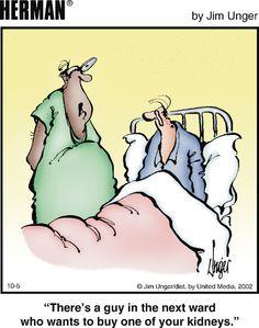 Herman Cartoon, Herman Comic, Redneck Humor, Funny Quotes, Funny Memes, Scrooge Mcduck, Medical Humor, Dentists, Nurses