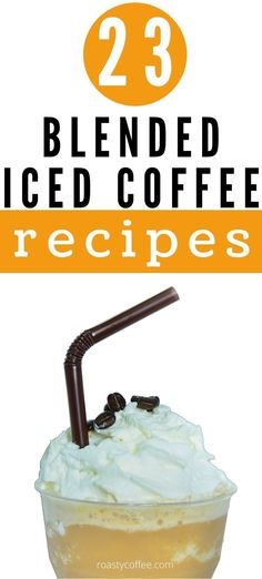 Looking for that perfect blended iced-coffee recipe you can make right in the comfort of your own home? We've got just what you've been looking for. With so many flavors and brewing options out there, there's a favorite iced-coffee recipe out there for every dedicated coffee lover. All of these recipes are simple to do, affordable, and guaranteed delicious. #coffee Blended Ice Coffee, Iced Coffee, French Vanilla, Cold Brew, Coffee Recipes, Cold Drinks, Brewing, Simple, Amazing