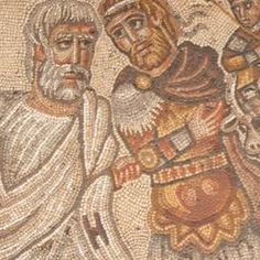Decorated floor in ancient synagogue may show legendary meeting with Alexander The Great