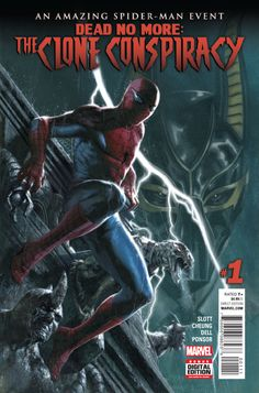 Spider-Man's Clone Troubles Continue  Spider-Man was in for a few surprises as The Clone Conspiracy began this week.  Warning: this article contains spoilers for The Clone Conspiracy #1!  In this issue Peter Parker finally learned that the biotech company New U is run by none other than his old clone-happy enemy the Jackal. After doing battle with both the Rhino and the new Electro Peter discovered that his old girlfriend Gwen Stacy has been brought back to life by the Jackal.  Continue…