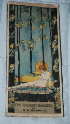 THE BLESSED DAMOZEL Rossetti Illust JESSIE M KING Art Nouveau | eBay