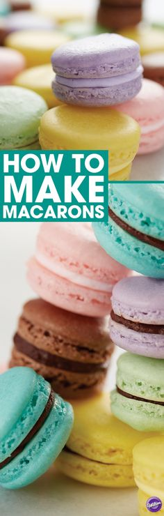 How to Make Macarons - Want to learn how to make French macarons? Here are some tips to help you make the perfect macarons whether its your first time or your 51st time!