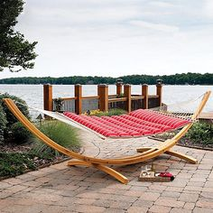 There's nothing quite as comfortable and relaxing as lounging in the afternoon breeze in a swaying hammock.