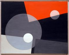 László Moholy-Nagy - Am 7 (26) (1926) I'm more familiar with his photography but I do like this as well.