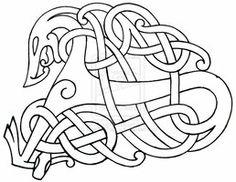 Viking Flash 3 by DarkSunTattoo on DeviantArt Celtic Symbols, Celtic Art, Celtic Dragon, Celtic Decor, Nordic Symbols, Celtic Patterns, Celtic Designs, Viking Ornament, Viking Art
