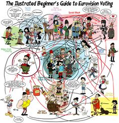 Illustrated beginner's guide to entering Eurovision