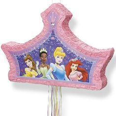 Party Ark's 'Disney Princess Glow Pull Pinata'